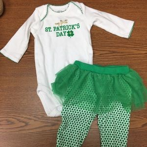Girls St. Patrick's Day Outfit